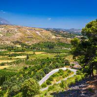 Пейзажи вокруг Фестского дворца, Крит, Греция