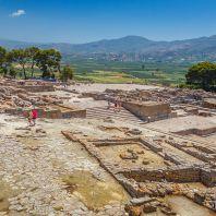 Территория Фестского дворца, Крит, Греция