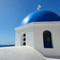 Остров Санторини (Santorini, Σαντορίνη), Греция