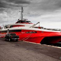 Морской порт Ираклиона, катамаран Flying Cat