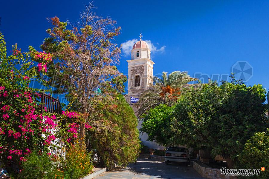 Вход в монастырь Топлу, Крит, Греция