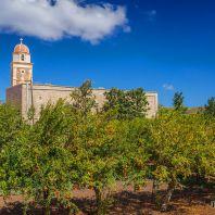 Гранатовые сады монастыря Топлу, Крит, Греция