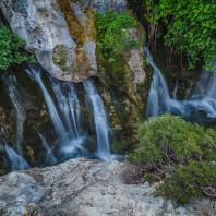 Водопады в ущелье Курталиотико