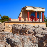 Кносский дворец, Ираклион