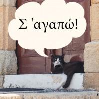 """Как сказать по-гречески """"Я тебя люблю""""?"""