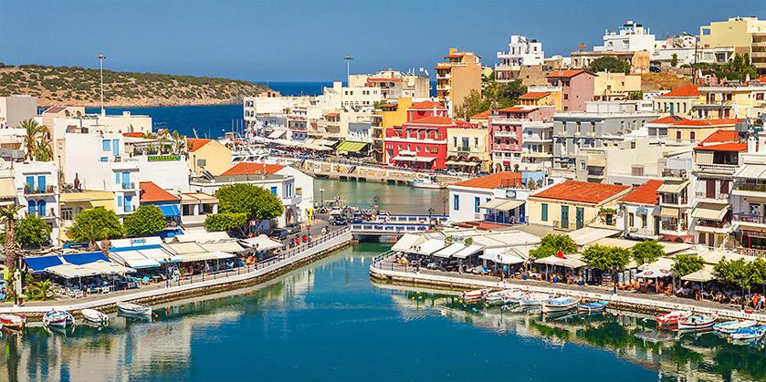 Город Агиос Николаос (Agios Nikolaos)