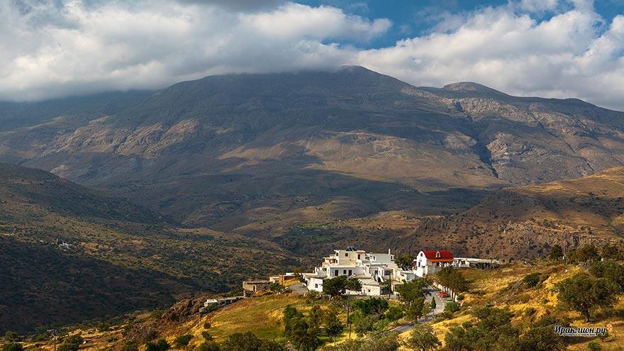 По дороге в Агиос Павлос, Крит, Греция