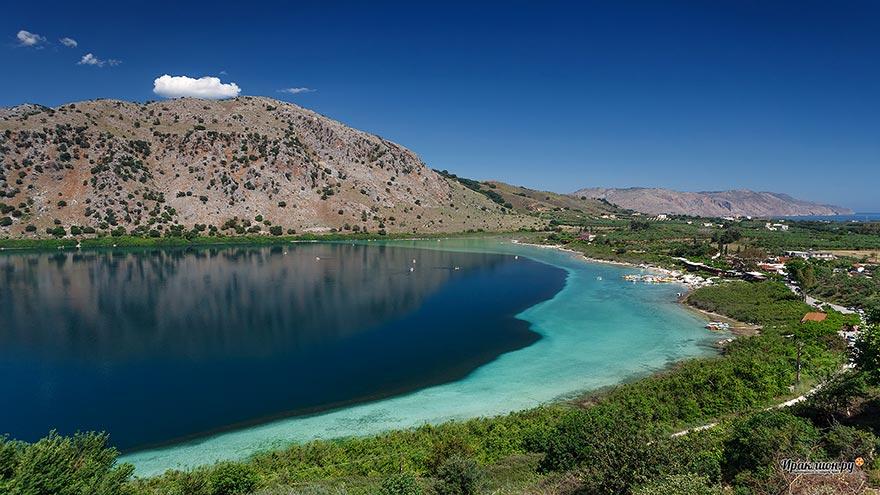 Озеро Курнас, Крит, Греция
