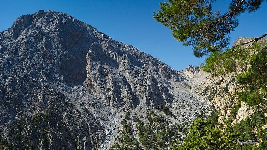 Самарийское ущелье и Белые горы, Крит, Греция