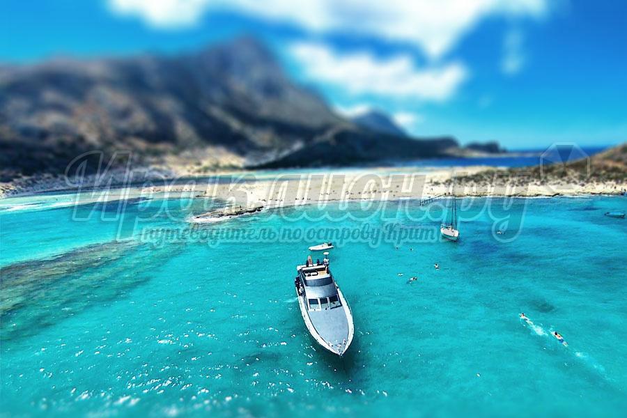 Аренда моторной лодки на Крите, Греция