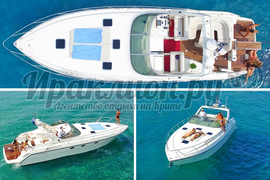 Аренда катера класса люкс в Агиос Николаос, Крит